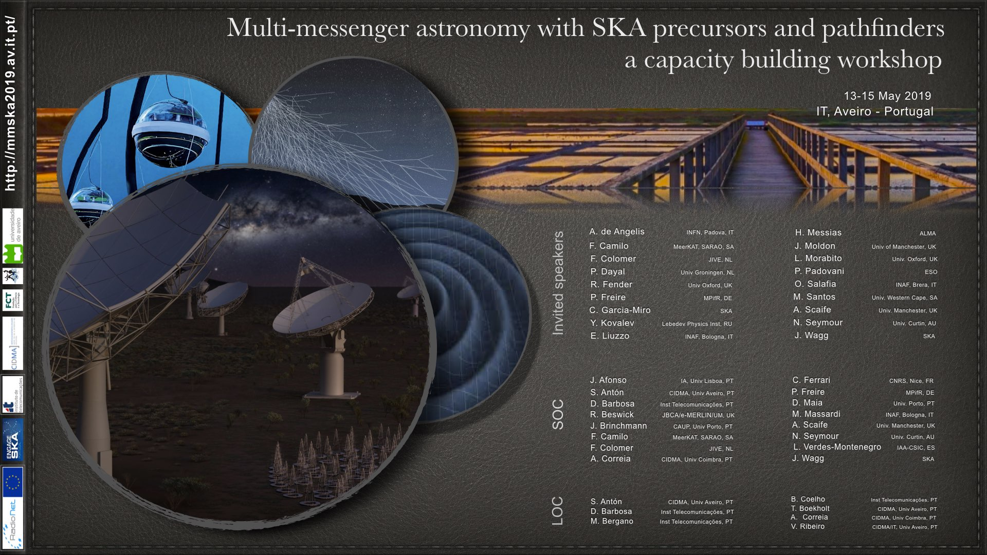 Multi-messenger astronomy with SKA precursors and pathfinders, a capacity building workshop